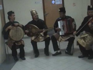 Malaysian traditional Gambus Music